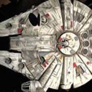 Saga Star Wars Art Poster