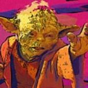 Star Wars At Art Poster
