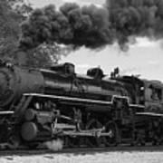 1905 Steam Engine Poster