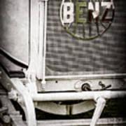 1908 Benz Prince Heinrich Two Seat Race Car Grille Emblem -1696ac Poster