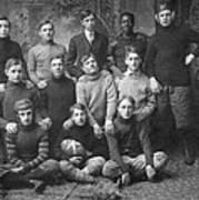 1908 Football Team Poster