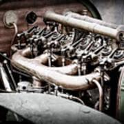 1910 Benz 22-80 Prinz Heinrich Renn Wagen Engine -1702ac Poster