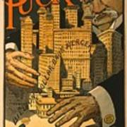 1910 Cartoon Expressing Concern That Poster by Everett
