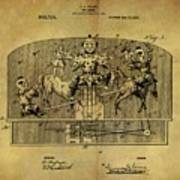1910 Toy Circus Patent Poster