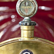 1913 Chalmers Model 18 Jordan Motometer Poster by Jill Reger