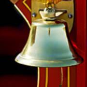 1919 Fire Truck Bell Poster