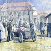 1922 Zbraslav Jiloviste Bugatti T13 Brescia Joan Halmovici Winner  Poster