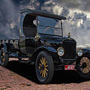 1923 Model T Ford Truck Poster