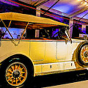 1925 Renault 40cv Tourer Poster
