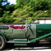 1926 Bentley Automobile Poster