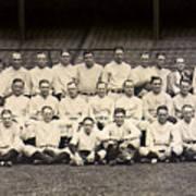 1926 Yankees Team Photo Poster