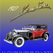 1927 Lasalle Poster