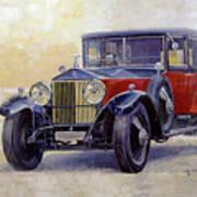 1927 Rolls-royce 40-50 Phantom 1  Poster