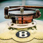 1929 Bentley 4.5-litre Open Tourer Hood Ornament Poster