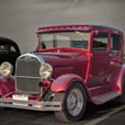 1929 Ford Model A Tudor Sedan Poster by Gene Healy