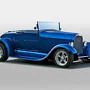 1929 Ford 'pretty Boy' Roadster Poster