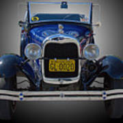 1929 Model A Ford Convertible Poster