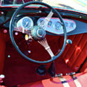 1929 Roadster Dashboard Poster