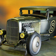 1930-31 Ford 'lakester' Coupe II Poster