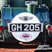 1930 Bentley Speed Six Taillights -0277c Poster