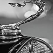 1930 Cadillac Roadster Hood Ornament 2 Poster