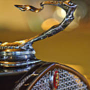 1930 Cadillac Roadster Hood Ornament Poster