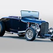 1930 Ford 'blu Mood' Roadster Poster