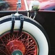1930 Rolls Royce Poster