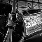 1930s Lockheed Electra Aircraft Poster
