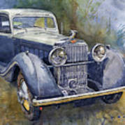 1938 Hispano Suiza J12 Poster