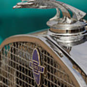 1931 Chevrolet Hood Ornament Poster