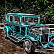 1931 Chevy Hot Rod  Poster