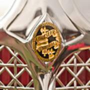 1931 Chrysler Cg Imperial Lebaron Roadster Grille Emblem Poster