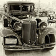 1931 Chrysler Front View Poster