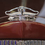 1931 Packard 840 Roadster Hood Ornament Poster