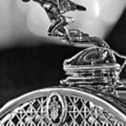 1931 Packard Convertible Victoria Hood Ornament 2 Poster