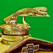 1932 Chevrolet Eagle Hood Ornament Poster
