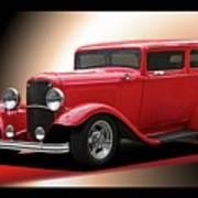 1932 Ford 'cherry Bomb' Sedan Poster