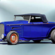 1932 Ford 'classic Hiboy' Roadster Xa Poster