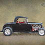 1932 Ford Convertible Street Rod Poster