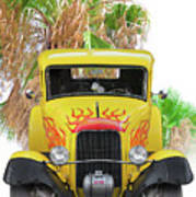 1932 Ford Five-window Coupe 'head On' I Poster