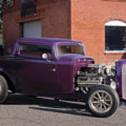 1932 Ford 'grape Soda' Coupe Poster