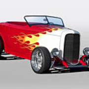 1932 Ford 'hot Stuff' Roadster Poster