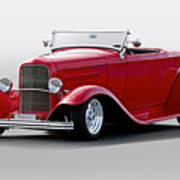 1932 Ford 'love Child' Roadster Poster