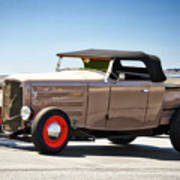 1932 Ford 'original Rod' Roadster Pickup Poster