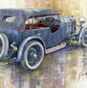 1932 Lagonda Low Chassis 2 Litre Supercharged  Poster