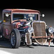 1933 Ford Pu Rat Rod II Poster