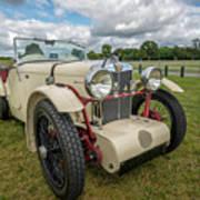 1933 Mg Sports Car Poster