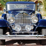 1933 Packard 12 Convertible Coupe Poster