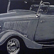 1934 Ford Roadster Poster